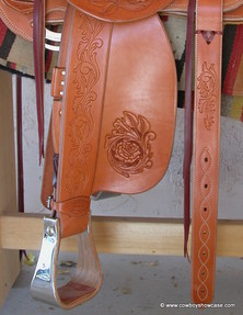 stirrup leathers and fender