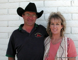 Rex and Cheryl Blackwell, The Man Who Rubs Horses