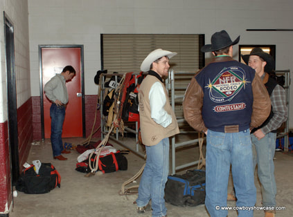 Invited Professional Rodeo Cowboys